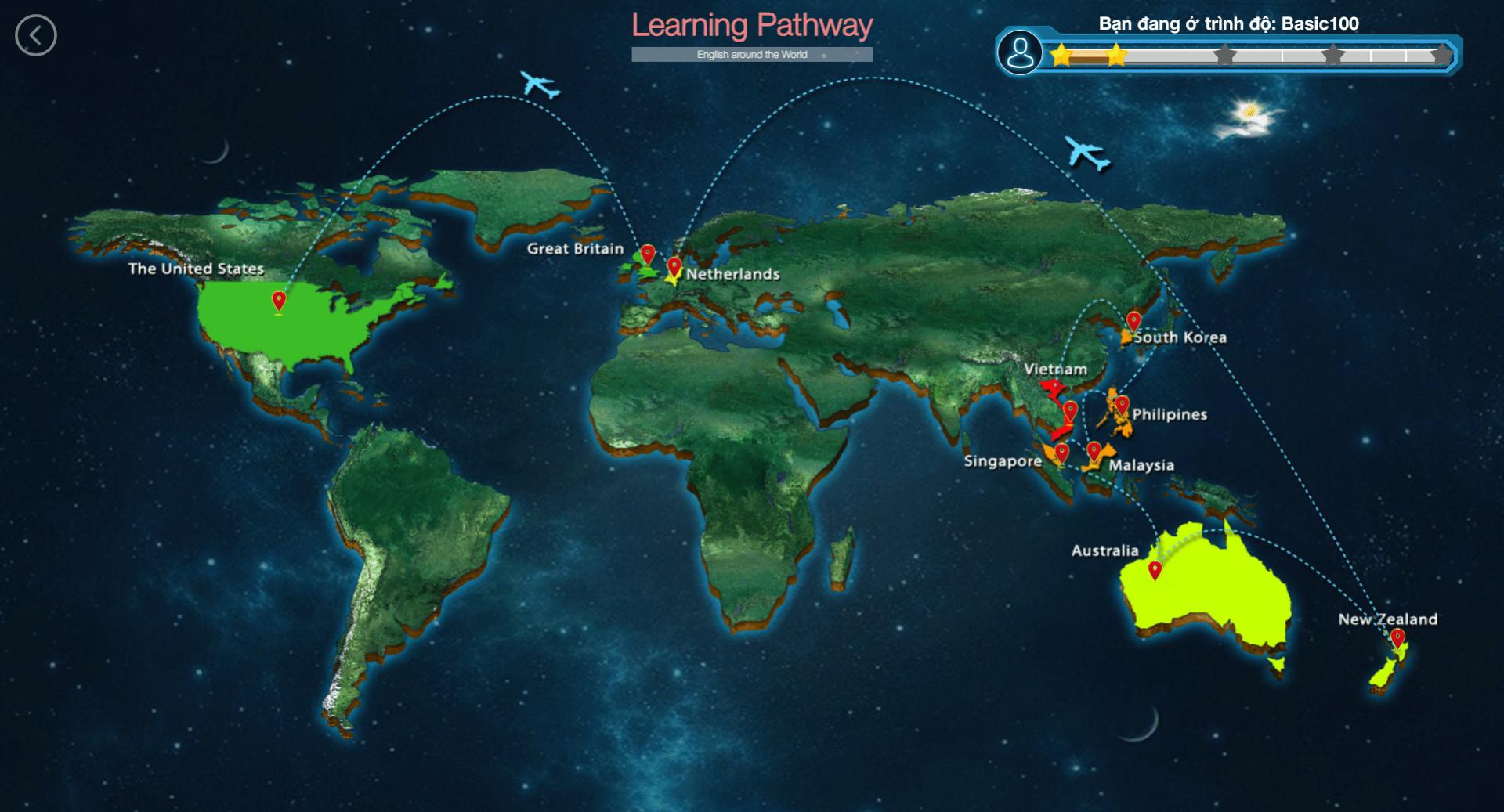 Native World học vòng quanh 52 quốc gia