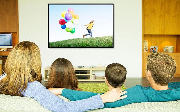 Thì hiện tại hoàn thành - Watching TV