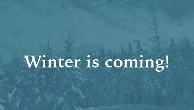 Thì hiện tại tiếp diễn - winter is coming