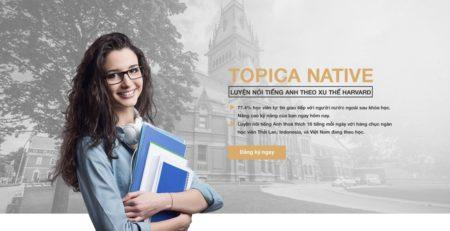 TOP 15 trung tâm tiếng Anh giao tiếp TOPICA Native