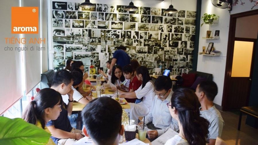 TOP 15 trung tâm tiếng Anh giao tiếp tại Hà Nội Aroma