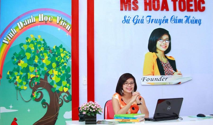 TOP 15 trung tâm tiếng Anh luyện thi TOEIC tại Hà Nội Ms Hoa TOEIC