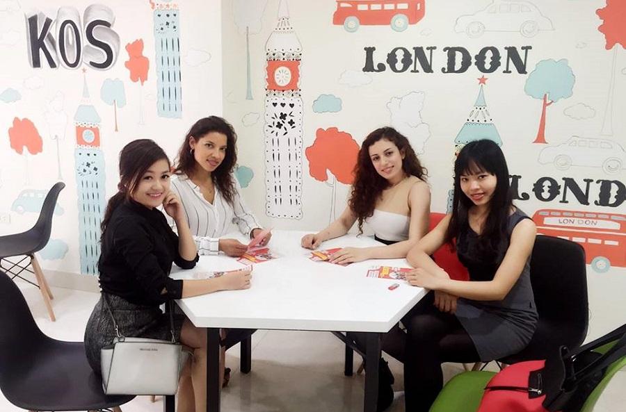 TOP 15 trung tâm tiếng Anh uy tín tại Hà Nội KOS TOEIC