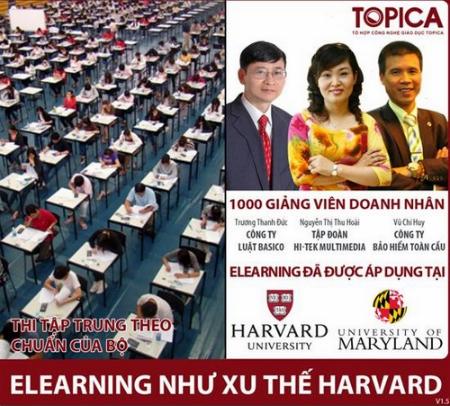 E-Learning là xu thế của nhiều trường đại học lớn trên thế giới.