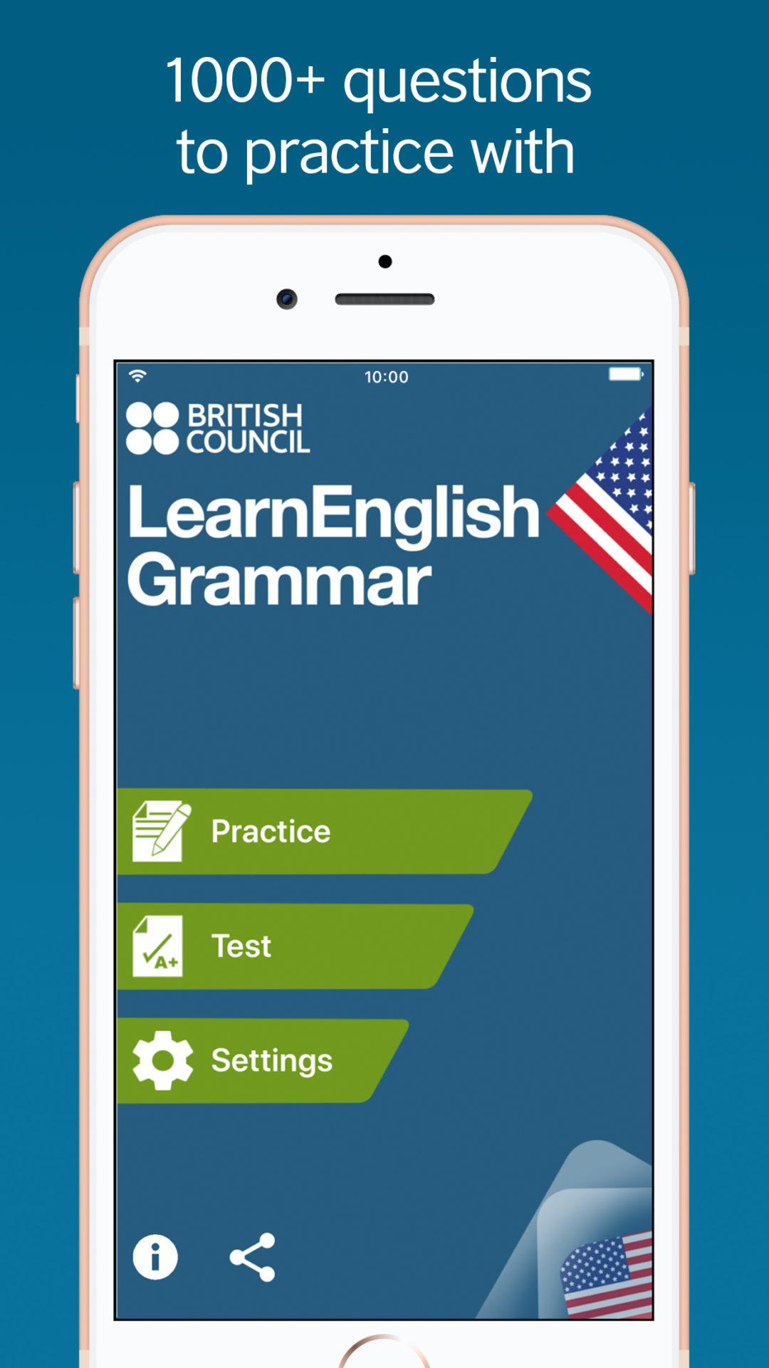 Ứng dụng học tiếng Anh Learn English Grammar