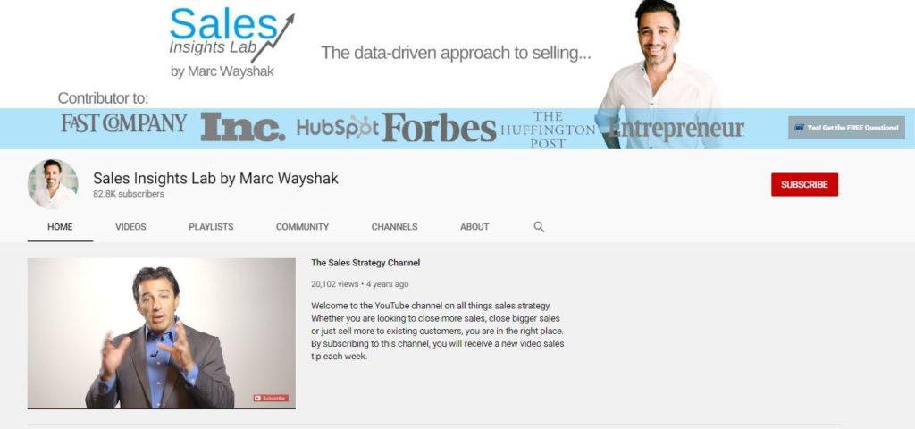 Kênh Youtube học Tiếng Anh ngành Sales