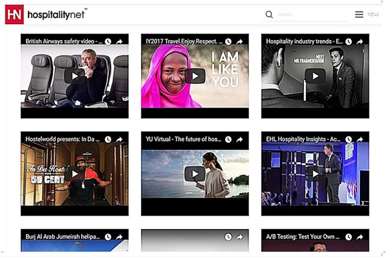 HospitalityNet là website hàng đầu về ngành dịch vụ - du lịch