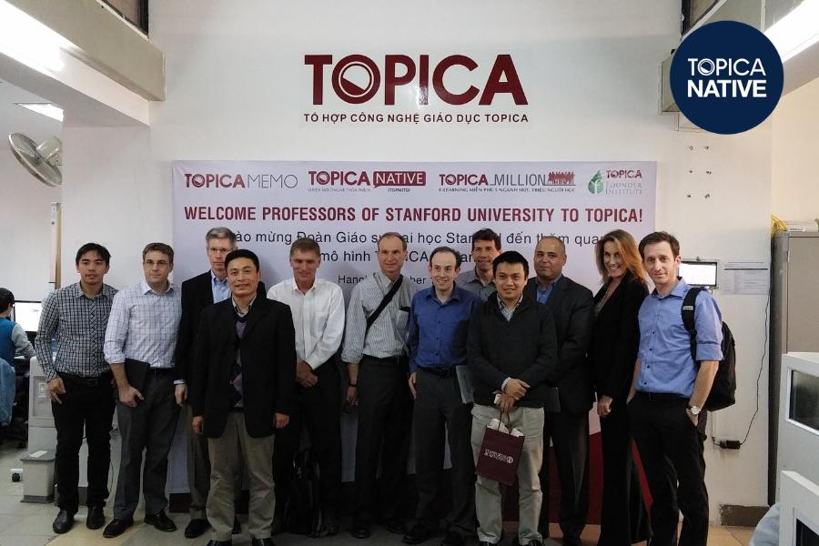 Đội ngũ giảng viên chất lượng tại TOPICA Native