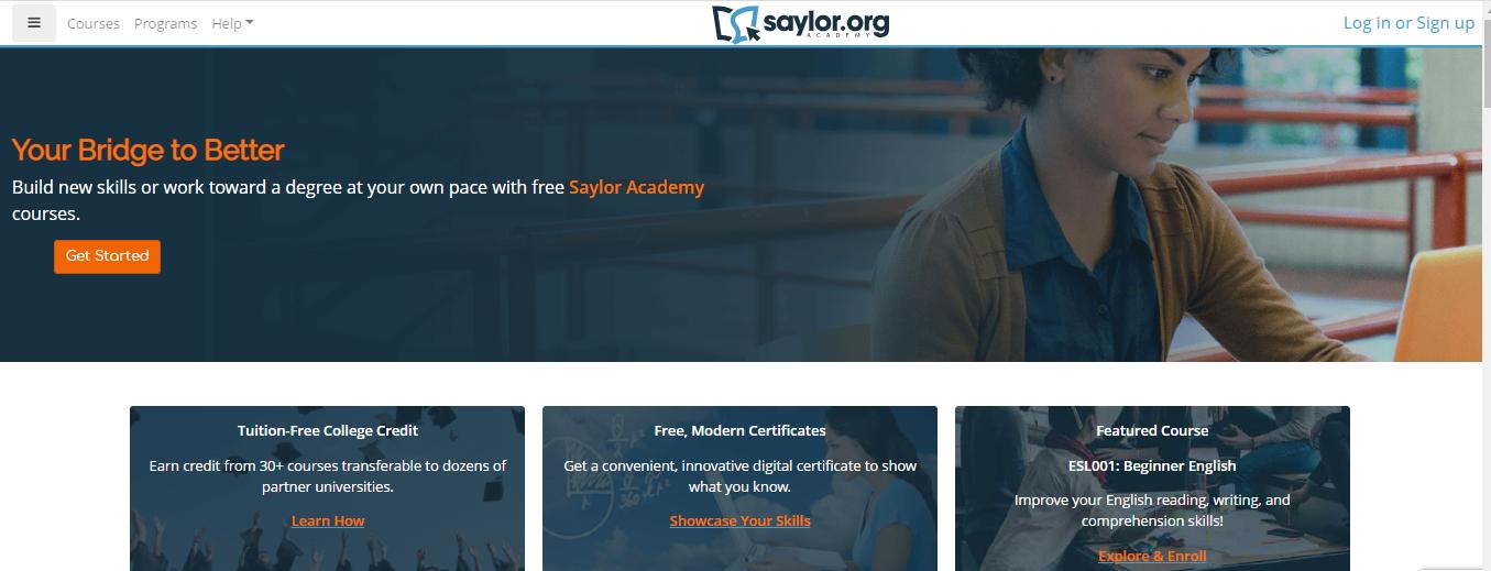 Saylor.org là website học tiếng Anh chuyên ngành nhà hàng - khách sạn hiệu quả
