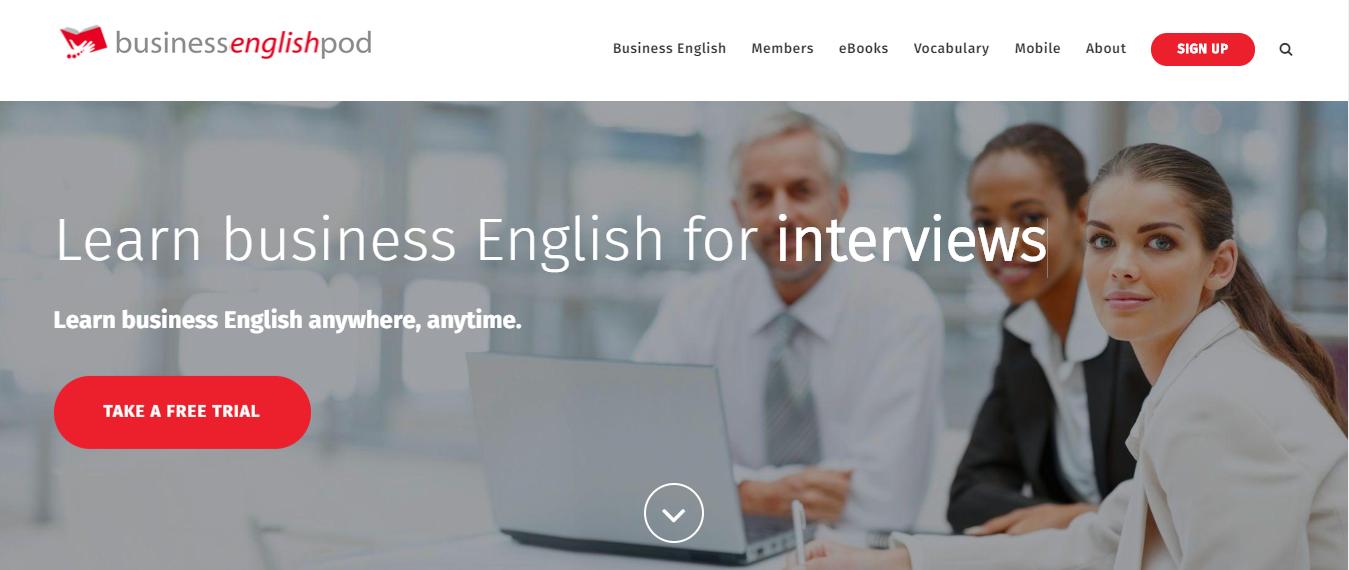 Luyện giao tiếp tiếng Anh chuyên ngành với Business English Pod