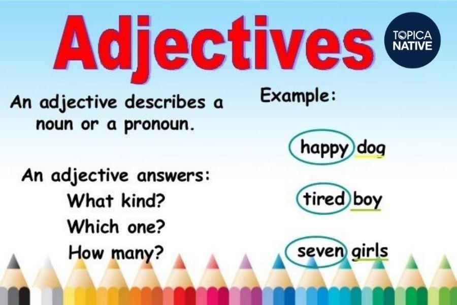 Chức năng của các tính từ tiếng Anh