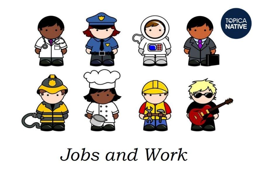 Từ vựng tiếng Anh về nghề nghiệp
