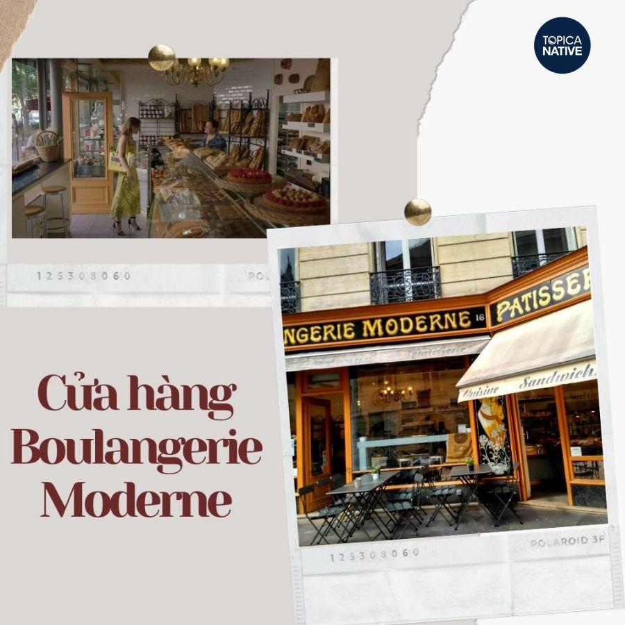 Tiệm bánh Boulangerie Moderne Rabineau