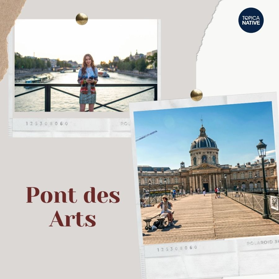 Cầu Pont des Arts