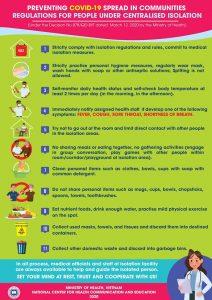 Khuyến cáo phòng chống bệnh COVID-19