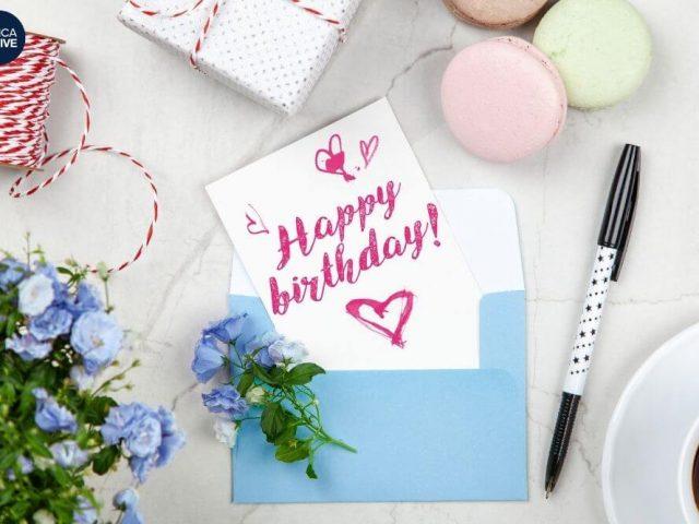 chúc mừng sinh nhật Tiếng Anh