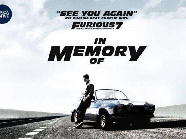 Học Tiếng Anh qua bài hát See You Again